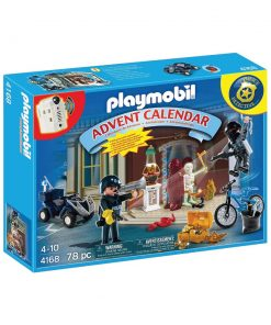 Playmobil julekalender indbrud i museet 4168