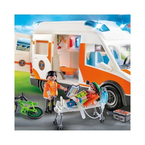 Playmobil Ambulance med blinklys 70049