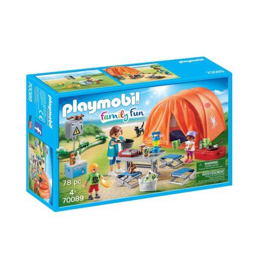 Playmobil Campingferie telt 70089