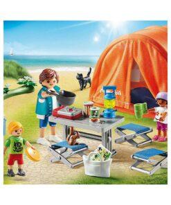 Playmobil Campingferie telt 70089 íllustration