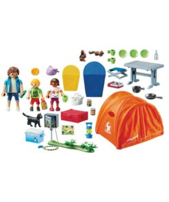 Playmobil Campingferie telt 70089 indhold