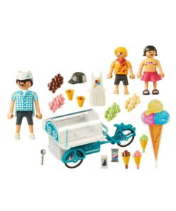 Playmobil cykel med isvogn 9426 indhold