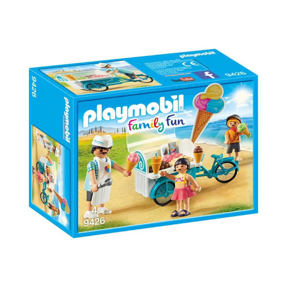 Playmobil cykel med isvogn 9426