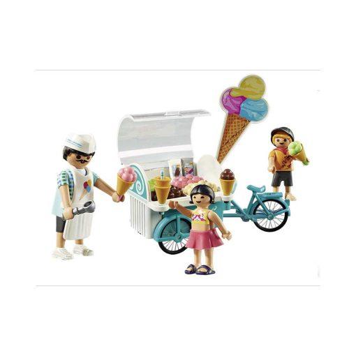 Playmobil cykel med isvogn 9426 opstilling