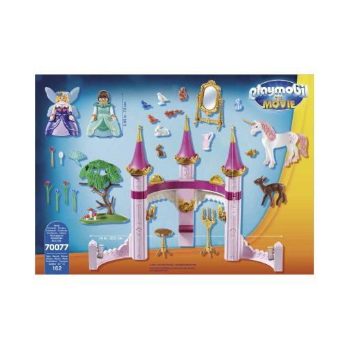 Playmobil Marle i eventyrslot 70077 bagside