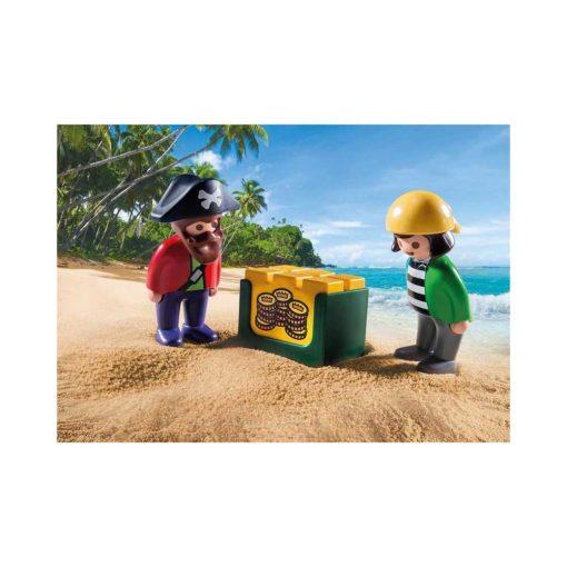 Playmobil piratskib 9118 figurer