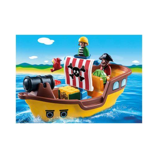 Playmobil piratskib 9118 illustration
