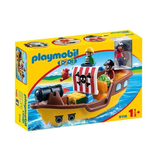 Playmobil piratskib 9118