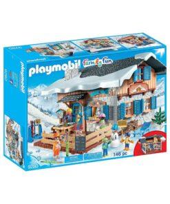 Playmobil Skihytte 9280 kasse