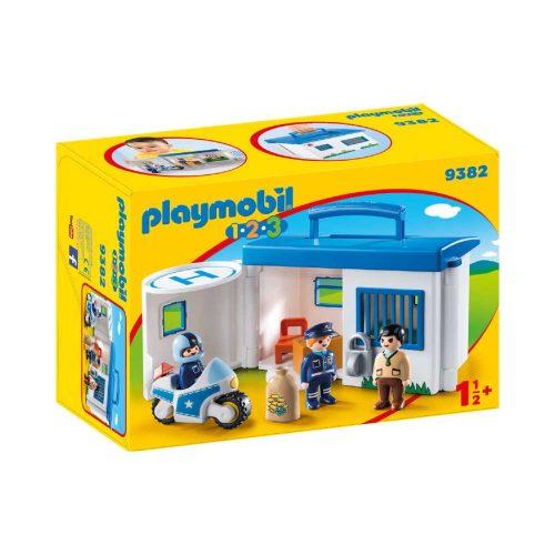 Tag med Playmobil politistation 9283