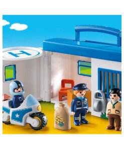 Tag med Playmobil politistation 9283 illustration