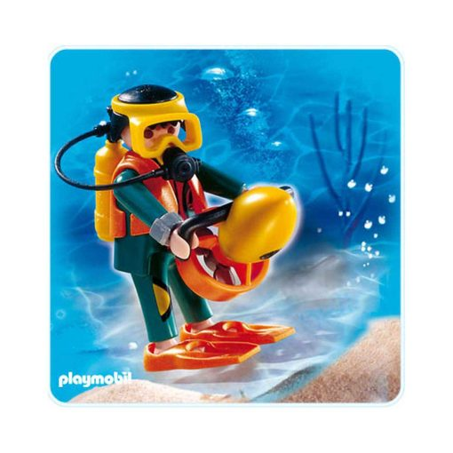 Playmobil SCUBA dykker 4688 illustration