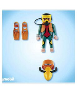Playmobil SCUBA dykker 4688 indhold