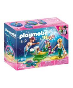 Playmobil Havfrue familie på udflugt 70100 boks