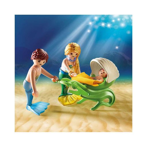 Playmobil Havfrue familie på udflugt 70100 illustration