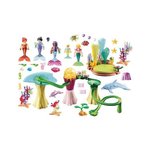Playmobil havfruebugt 70094 indhold
