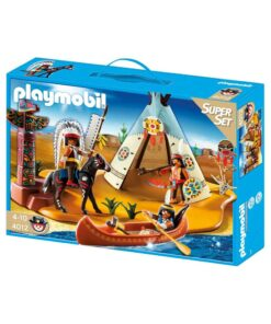 Playmobil Indianerlejr 4012 Boks