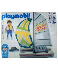 Playmobil katamaran båd 3183 bagside foto