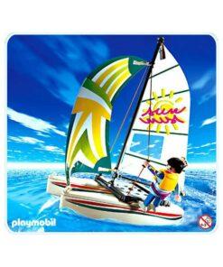 Playmobil katamaran båd 3183 billede