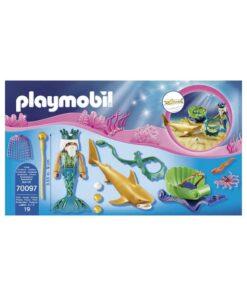 Playmobil havets konge med karet 70097 indhold