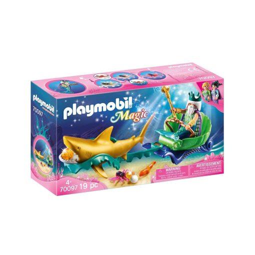 Playmobil havets konge med karet 70097 boks