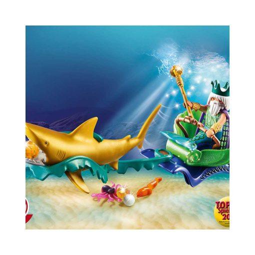 Playmobil havets konge med karet 70097 illustration