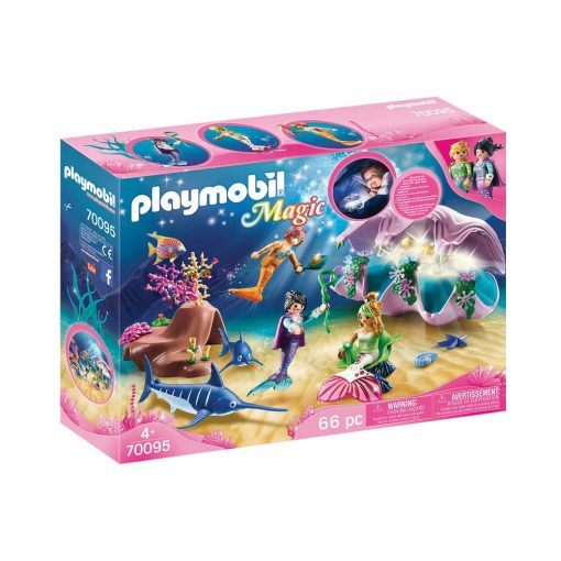 Playmobil havfrue natlampe musling 70095