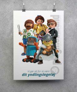 Playmobil plakat The Movie slæng yndlingslegetøj