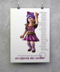 Playmobil Everdreamerz plakat Vionas fantasi