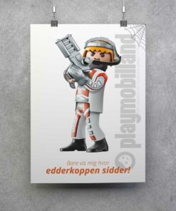 Playmobil Plakat Top Agents Edderkop