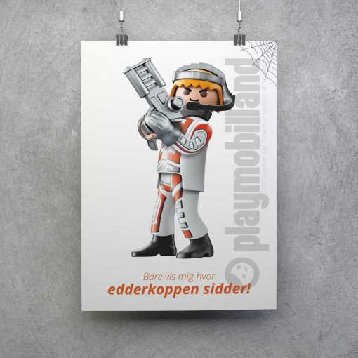 Playmobil Plakat Top Agents Edderkop