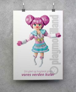 Playmobil plakat Everdreamerz Rosalee kulør
