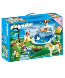 Playmobil prinsesser 4137 slotshave box
