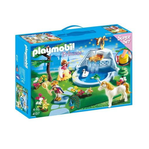 Playmobil prinsesser 4137 slotshave box