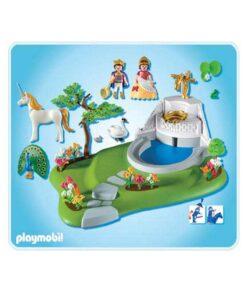 Playmobil prinsesser 4137 slotshave indhold