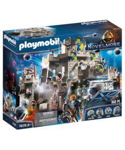 stort Playmobil Novelmore slot 70220 wolfshaven