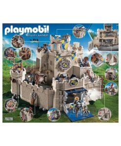 stort Playmobil Novelmore slot 70220 æske