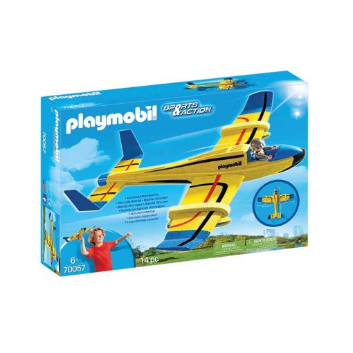 Playmobil svæveflyver 70057 boks