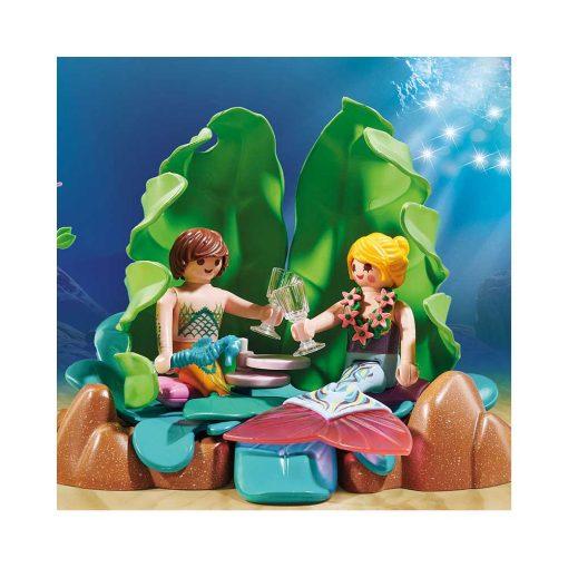 Playmobil havfrue lounge 70368 par hygger i lounge