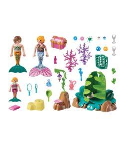 Playmobil havfrue lounge 70368 indhold