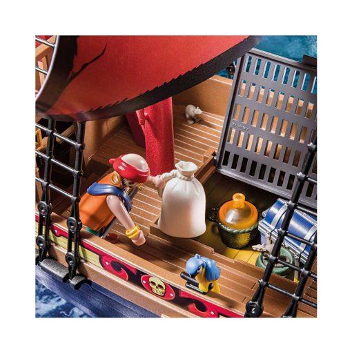 Playmobil piratskib 70411 dødnigehoved kampskib skattekammer