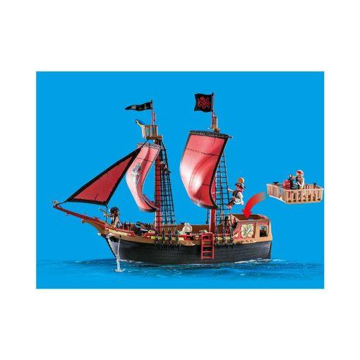 Playmobil piratskib 70411 dødnigehoved kampskib fra siden