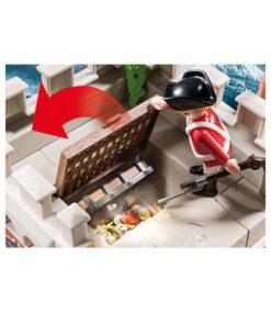 Playmobil rødjakke bastion 70413 skattekammer
