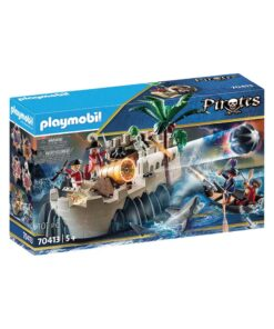 Playmobil rødjakke bastion 70413 kasse