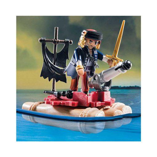 Playmobil Rødjakkesejler skib 70412 tømmerflåde