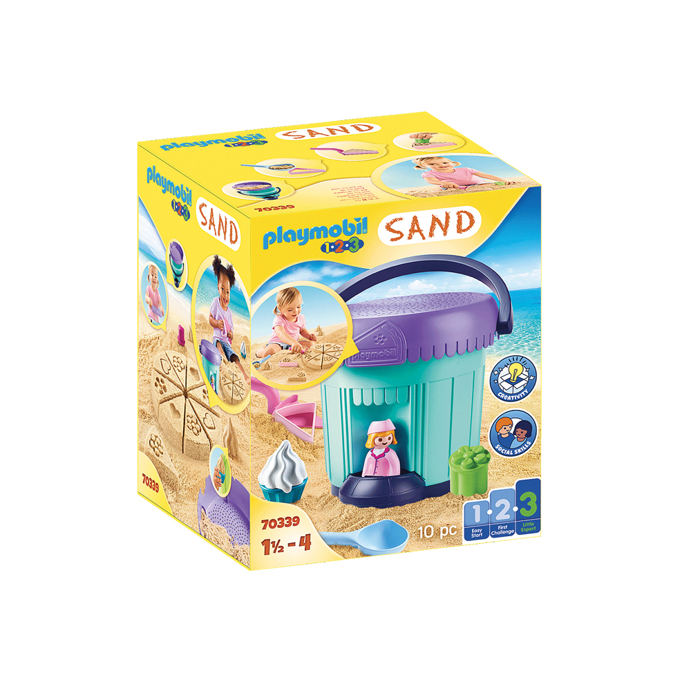 Playmobil Sandkagebageri 70339 kasse