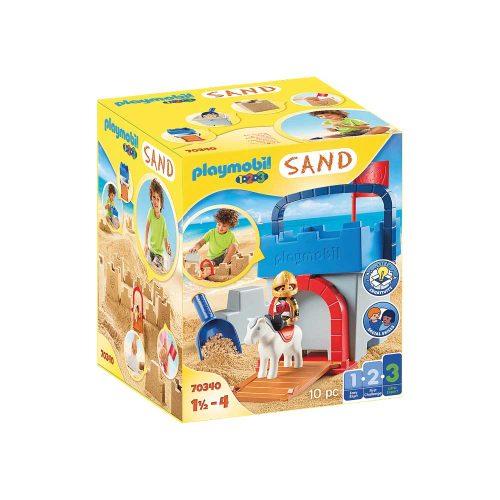 Playmobil Sandslot ridder 70340 kasse