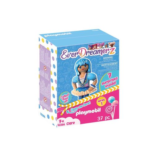 Playmobil Everdreamerz Clare 70386 blå kasse