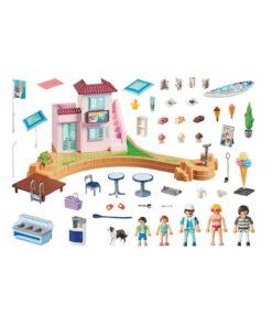 Playmobil iskiosk ved havnen 70279 indhold