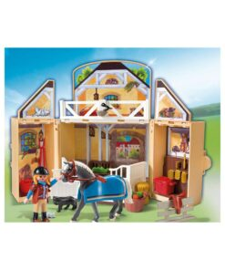 Tag-med Playmobil ponygård illustration